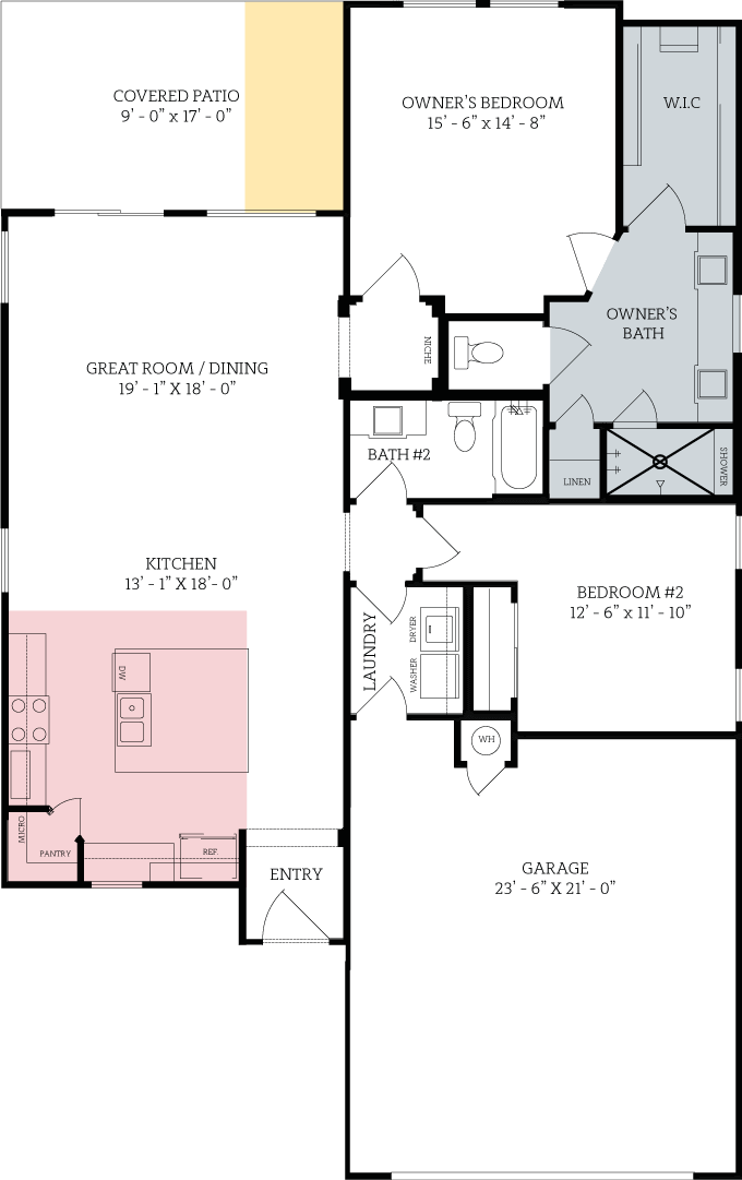 Floorplan for Middlebury Chancellor