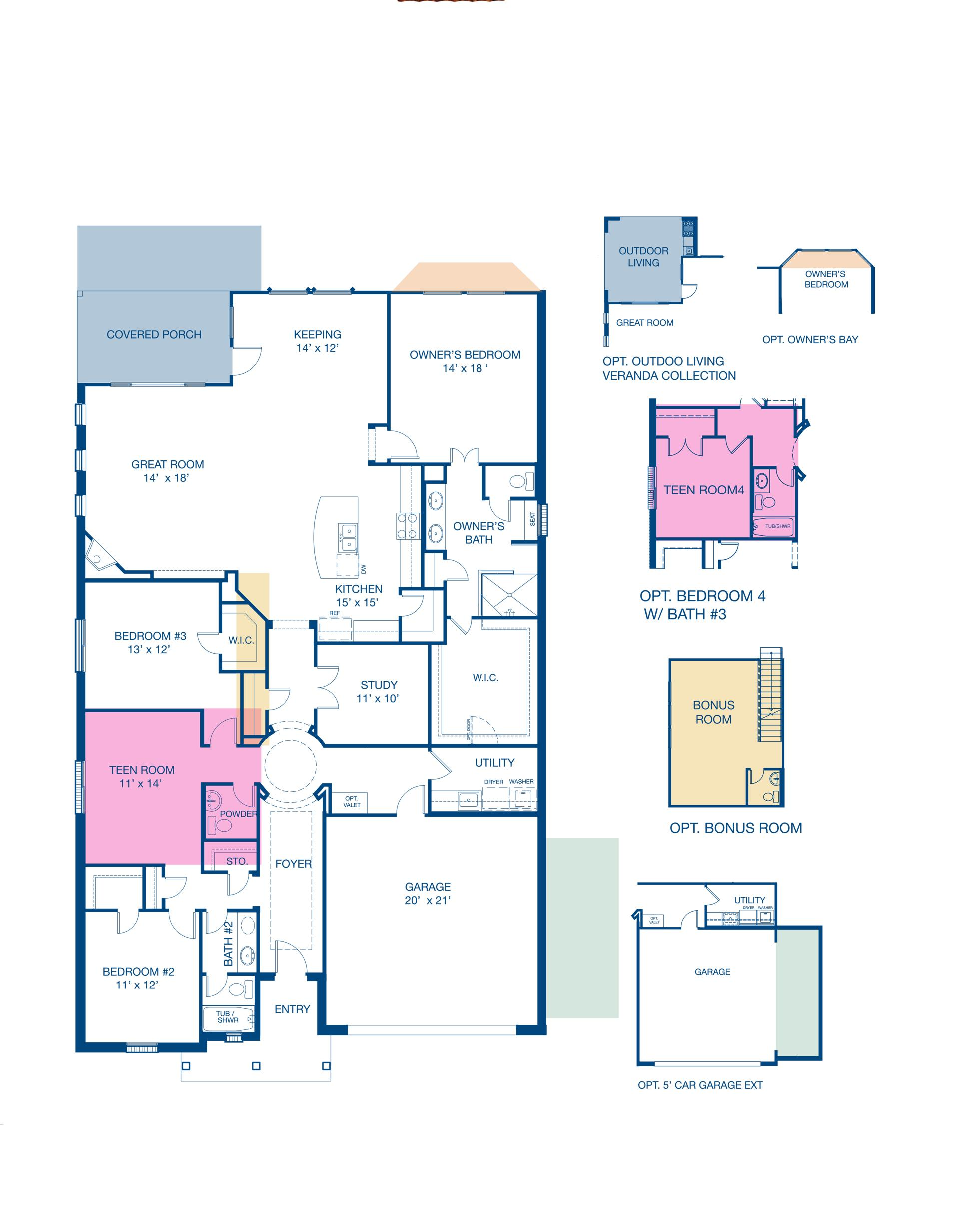 Floorplan for Taylor