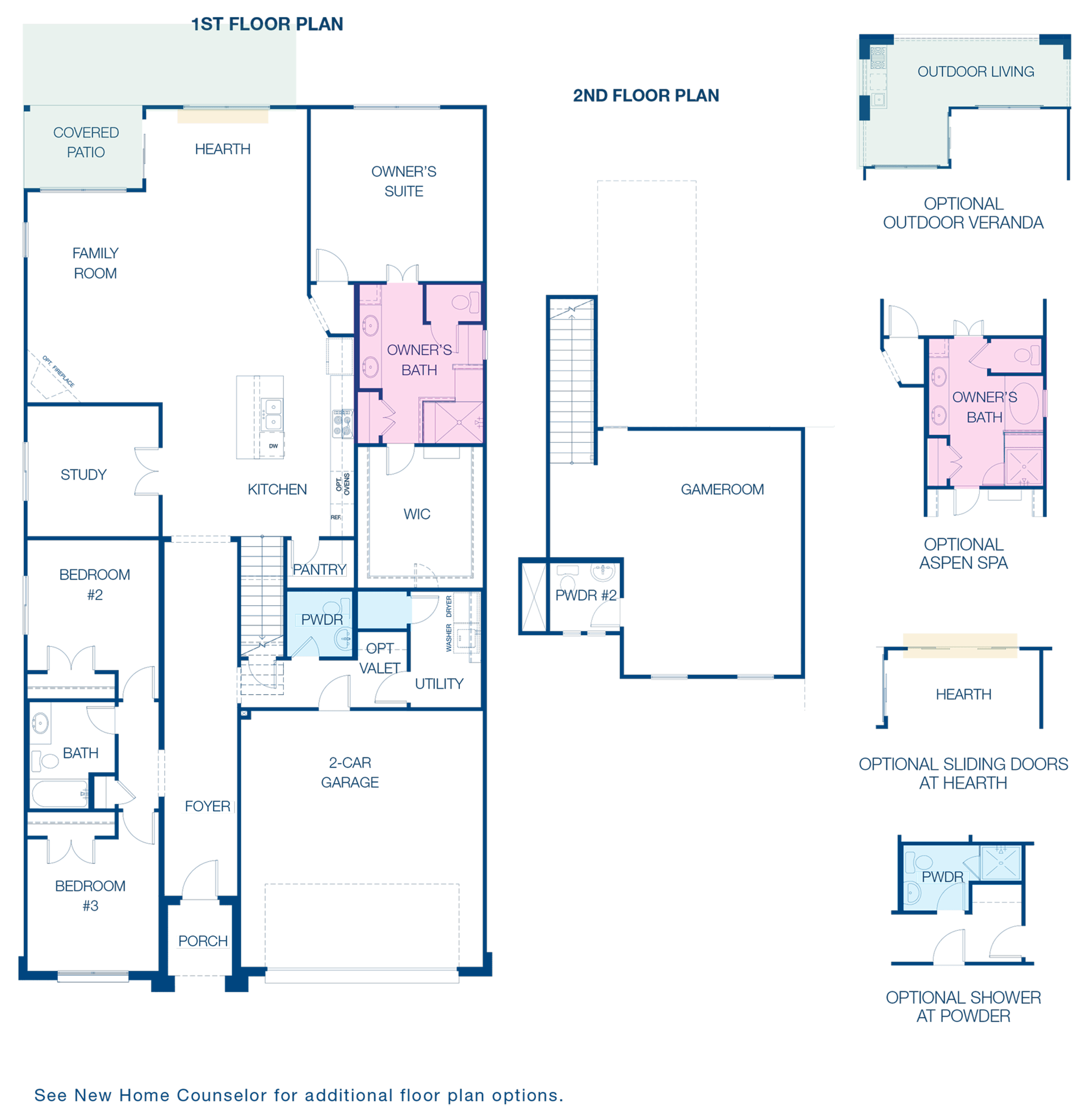 Floorplan for Occidental